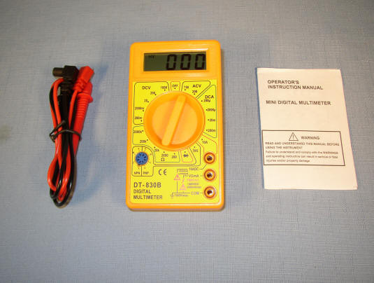 Nice Volt-Ohm-Milliamp Meter (VOM) Just $11!
